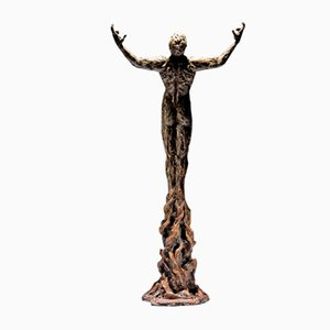 Born Within Fire Bronze Sculpture by Ian Edwards, 2017