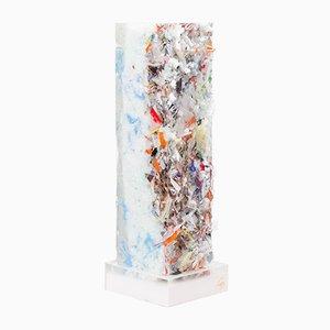 Halo Skulptur aus gepresstem Müll & Harz von Charles Osawa, 2017