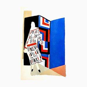 Pochoir Living Painting di Sonia Delaunay, 1969