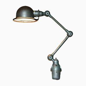 Lámpara de mesa industrial vintage articulada de Jean-Louis Domecq