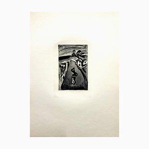 Ubu the King Stich von Georges Rouault, 1929