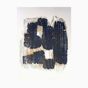 Rhythm Holzschnittdruck von Raoul Ubac, 1964