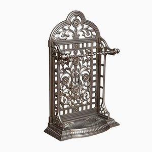 Paragüero Coalbrookdale estilo victoriano de hierro fundido