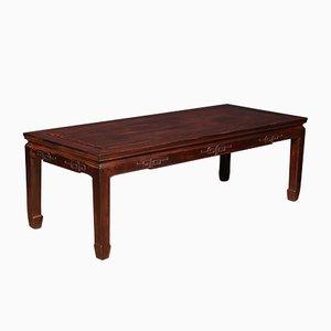 Mesa de centro china antigua de madera