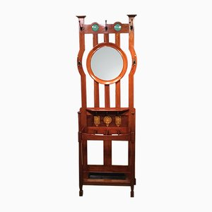 Antique Mahogany Hall Stand from Shapland & Petter of Barnstaple