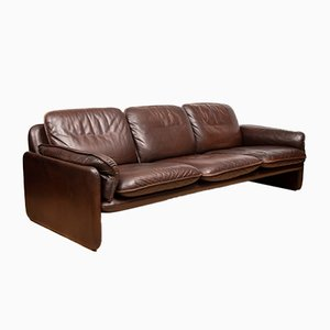 Leather DS61 Sofa from de Sede, 1970s