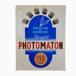Póster publicitario francés de Photomaton, años 50