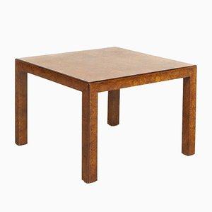 Table Basse Carrée Mid-Century en Bois de Broussin par John Widdicomb Co., 1970s