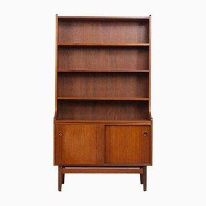 Dänisches Mid-Century Bücherregal aus Holz von Johannes Sorth für Bornholm, 1960er