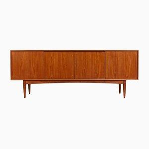 Dänisches Mid-Century Sideboard aus Teak von Bernhard Pedersen & Søn, 1960er