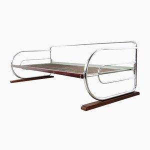 Bauhaus Chrome Plated Steel Sofa, 1930s