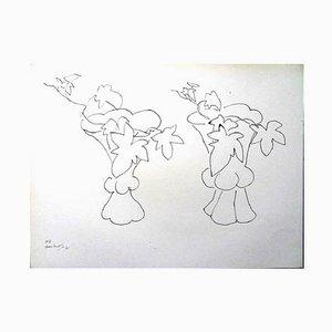 Litografia Flowers di Henri Matisse, 1943