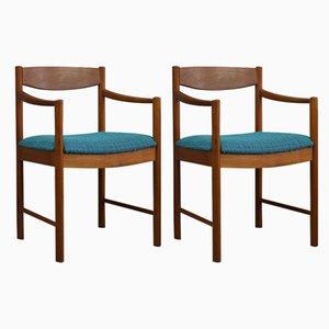 Chaises d'Appoint en Teck de McIntosh, 1970s, Set de 2