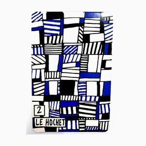 Serigrafía Le Hochet de Jean Dubuffet, 1967