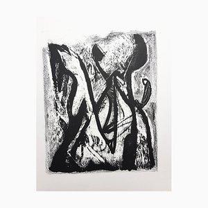 Kafka Lithograph by Jean-Michel Atlan, 1946