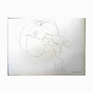 Pumpkin and Flowers Lithograph by Henri Matisse, 1943