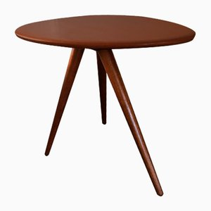 Mid-Century Mahogany Side Table, 1950s
