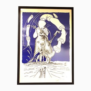 Les Songes Drolatiques Lithograph by Salvador Dali, 1970s