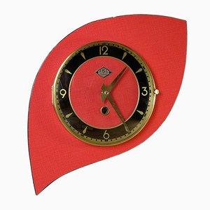 Reloj de pared francés de formica