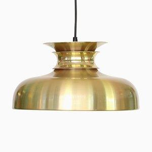 Vintage Danish Aluminum Ceiling Lamp, 1970s