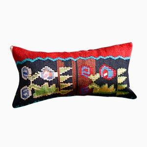 Kelim Kissenbezüge aus Wolle & Baumwolle von Zencef Contemporary, 2er Set