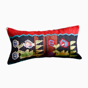 Wool & Cotton Kilim Pillow Covers by Zencef Contemporary, Set of 2