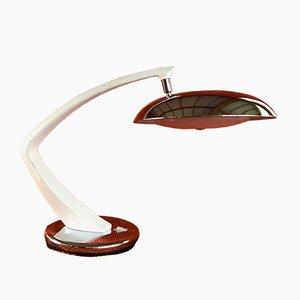 Boomerang Tischlampe von Fase, 1960er