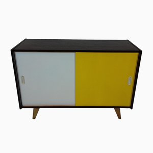 Beech Sideboard by Jiří Jiroutek for Interier Praha, 1960s