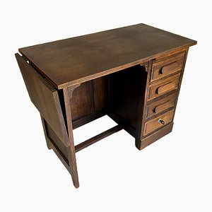 Mid-Century Oak Children's Desk, 1950s