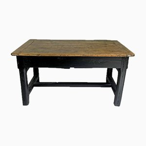 Antique French Solid Oak Worktable