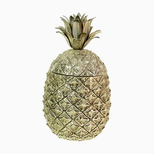 Italian Pineapple Ice Bucket by Mauro Manetti, 1950s