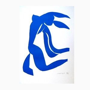 Blue Freedom by Henri Matisse for Succession Matisse, 1950s