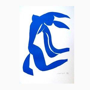 Blue Freedom par Henri Matisse pour Succession Matisse, 1950s