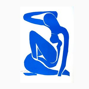 Blue Nude by Henri Matisse for Succession Matisse, 1950s
