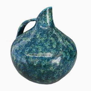 Glasierte Kanne aus Keramik, 1940er