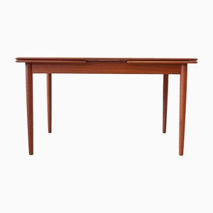 Mid-Century Teak Extendable Dining Table, 1960s