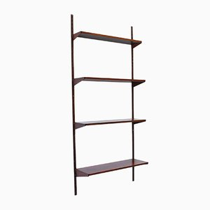 Danish Rosewood Wall Shelving Unit by Kai Kristiansen for Feldballes Møbelfabrik, 1960s