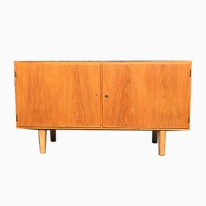 Vintage Oak Sideboard by Carlo Jensen for Hundevad & Co.