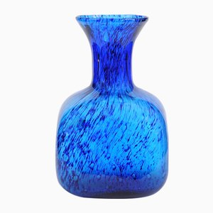 Mid-Century Italian Colored Glass Vase from Empoli, 1960s