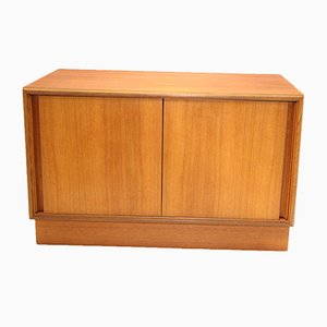 Mid-Century Teak Cabinet with Sliding Doors from G-Plan, 1960s