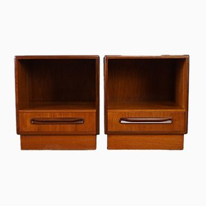 Vintage Nightstands by Victor Wilkins for G-Plan, Set of 2