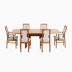 Set da pranzo Mid-Century in teak di Vejle Stole OG Moebelfabrik, Danimarca, anni '60