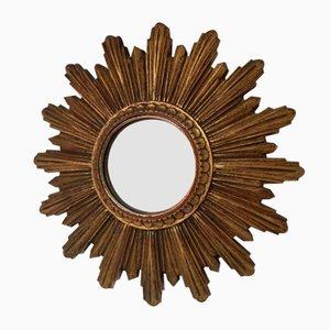 Specchio vintage a forma di sole