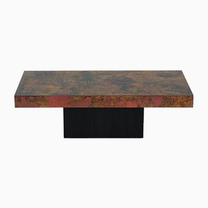 Vintage German Copper Coffee Table by Bernhard Rohne, 1966