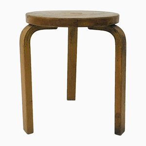 Birch Model 60 Stool by Alvar Aalto for Artek, 1930s
