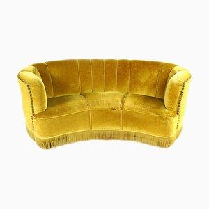 Mid-Century Banana Sofa, 1940s