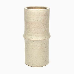 Large Minimalist Ceramic Vase from Mobach, 1970s