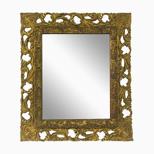 Antique Florentine Giltwood & Gesso Mirror