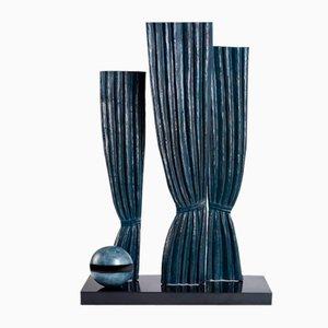 Surrealistische La Joconde Skulptur aus Bronze von René Magritte, 1960er