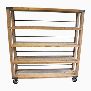 Industrial Backery Shelf on Wheels, 1950s